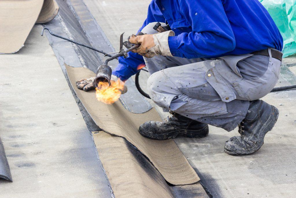 floor slab waterproofing works